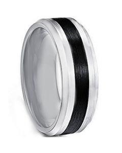 COI Tungsten Carbide Beveled Edges Ring - TG4242AA