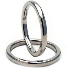 *COI Tungsten Carbide Dome Court Ring-TG3453