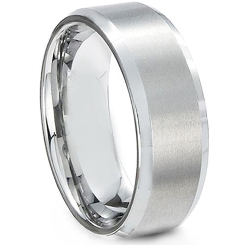 COI Tungsten Carbide Beveled Edges Ring - TG613