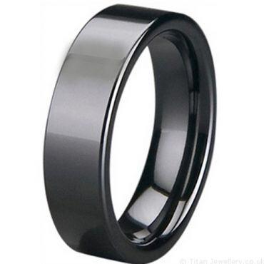 COI White/Black High Tech Ceramic RIng-5400