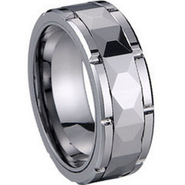 COI Tungsten Carbide Ring - TG1225(Size:US9/11.5)