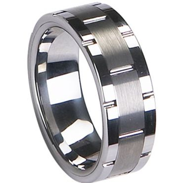 COI Tungsten Carbide Ring - TG1967(Size:US12.5)
