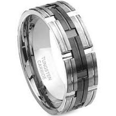 COI Tungsten Carbide Ring - TG2158(Size:US12)