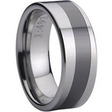 COI Tungsten Carbide Ring - TG729(Size:US6.5/10/13)